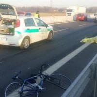 Rosta, ciclista di 70 anni investito e ucciso sul tratto di superstrada