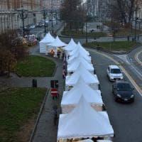 Chiuso il mercato di Natale di piazza Statuto: