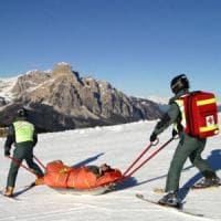 Limone Piemonte, sciatore cade e batte violentemente la testa: grave al