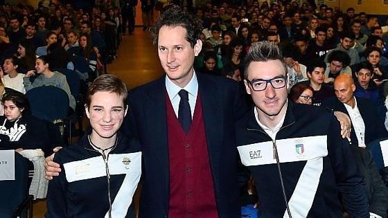 """Torino, Bebe Vio agli studenti dell'Alfieri: """"Date sempre il massimo per i vostri sogni, se ce l'ho fatta io potete riuscirci anche voi"""""""