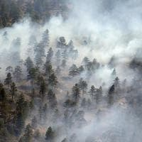 Non piove, scatta l'allarme incendi per i boschi in Piemonte