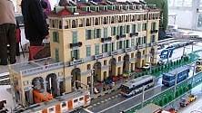 Torino ricostruita  con i mattoncini Lego.  A Grugliasco