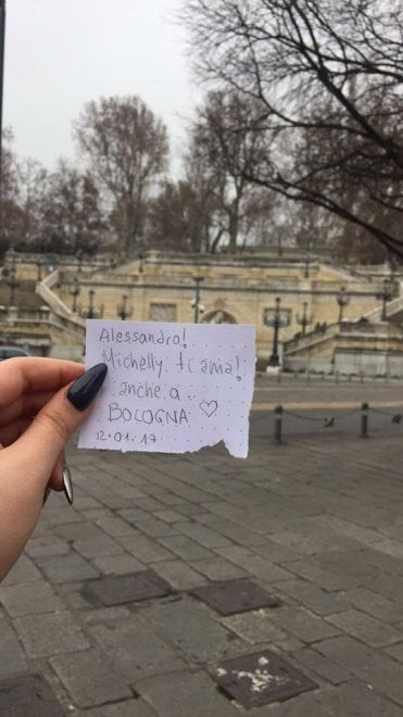 il messaggio d'amore di Michelly diventa virale