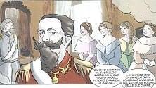 Torino, la graphic novel per ragazzi che racconta le regge sabaude