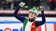 Arianna Fontana superstar al Palavela agli europei di short track