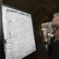 Torino, foto e prime pagine per i 150 anni della