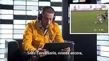 Marchisio telecronista  in piemontese  (quasi) perfetto