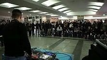 Sfida tra dj in metrò  per il Reload  Music Festival