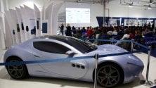 Duecento studenti scoprono i segreti dello stabilimento Maserati