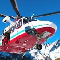 Aosta, scialpinista cade in un crepaccio nella zona del Monte Rosa