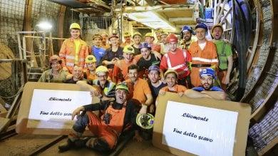 Torino-Lione, finito il tunnel di Chiomonte: è costato 20 milioni solo per la sicurezza
