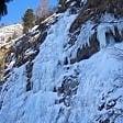 Cogne. escursionista francese precipita da una cascata di ghiaccio   video