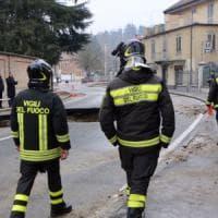 Torino: si apre una voragine in viale Thovez, traffico nel caos in precollina