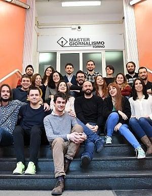 """Il Master in giornalismo """"Giorgio Bocca"""" la redazione"""