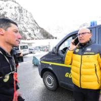 La tragedia di Courmayeur: le immagini dei soccorsi