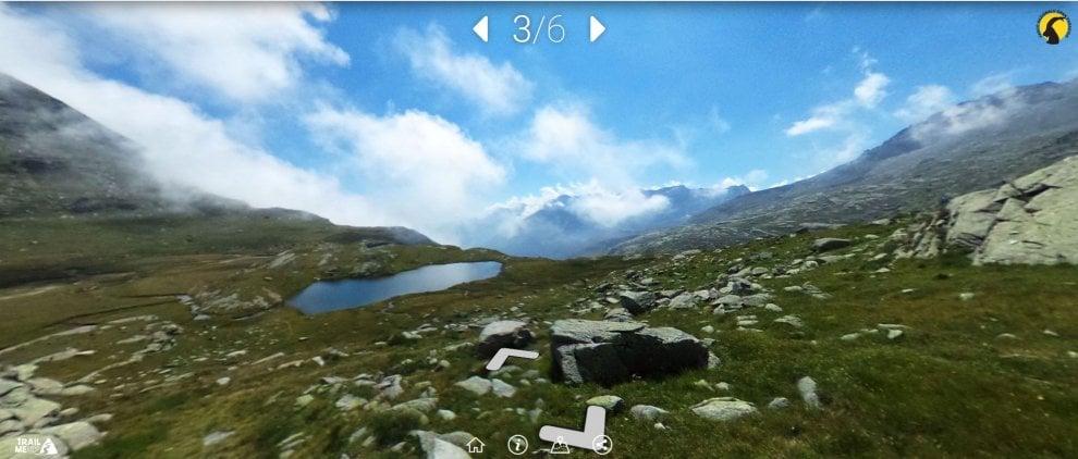 Montagne, sentieri e natura: ora il Parco del Gran Paradiso si visita dal pc