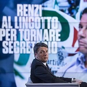 """Renzi al Lingotto con i volontari """"Volevo abbandonare la politica, ma sarebbe stato un atto egoistico"""""""