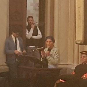 Pollenzo, l'università di Scienze Gastronomiche festeggia i neolaureati con Emma Bonino