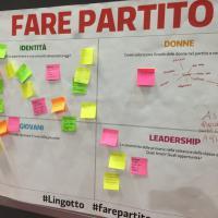 Torino, tra critiche e idee i post-it dei militanti dem al Lingotto:
