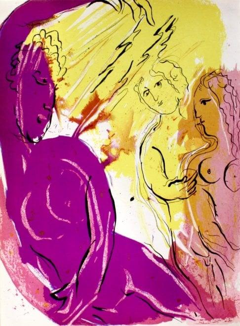 """Chagall, una grande mostra a Torino celebra """"l'artista che dipingeva fiabe d'amore"""""""