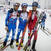 Lenzi e Eydallin, due italiani sul podio del Mondolè Ski Alp