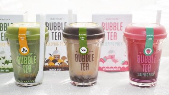"""Con i cento colori dei """"Bubble Tea"""" la primavera inizia a tutto detox"""
