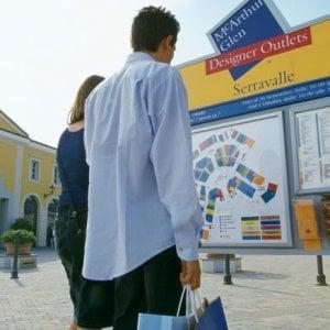 Outlet Serravalle, solo quattro boutique chiuse nel giorno dello sciopero