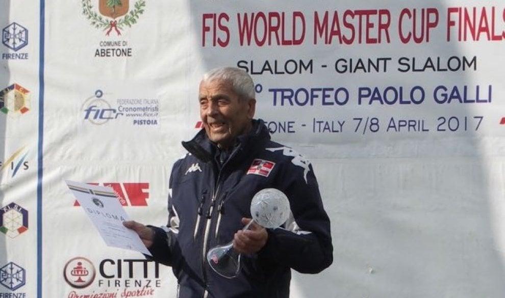 Da Sestriere all'Abetone, vince a 89 anni la Coppa del mondo di sci
