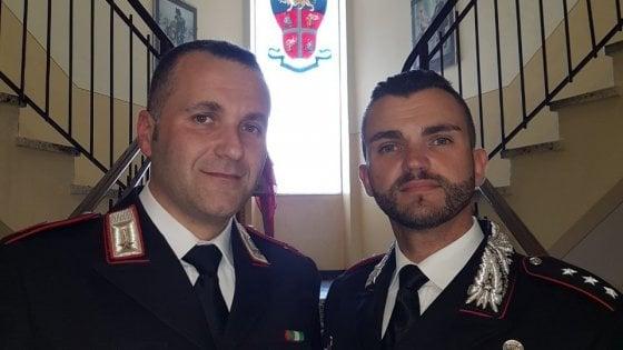 Asti, il carabiniere eroe: