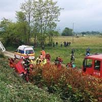 Tir tampona auto a Salassa: grave una donna di 64 anni