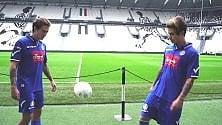 """Benji e Fede palleggiano allo Stadium: """"Tutti    alla Partita del Cuore"""""""