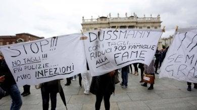 Torino: vertenza pulizie negli ospedali     Chiamparino strappa l'intesa alla Dussmann