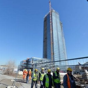 Torino termine scaduto per la ripresa dei lavori al for Grattacielo torino fuksas