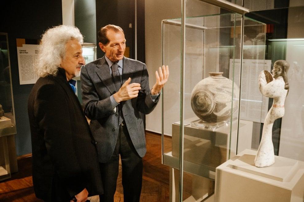 Maisky, il re del violoncello in visita al Museo d'Arte Orientale di Torino