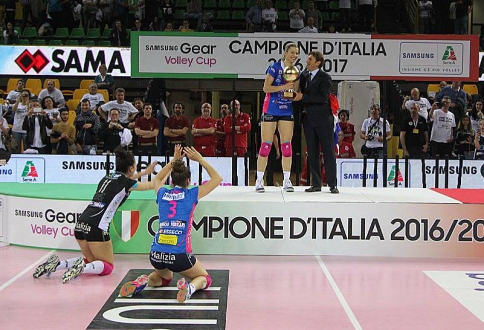 Igor Novara, le foto del trionfo nel volley femminile