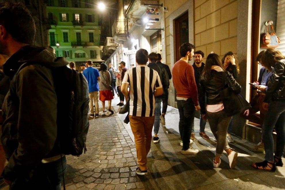 Juventus, la delusione dei tifosi pronti a festeggiare