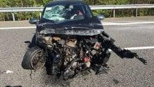 Auto sbanda e si schianta: bloccata per ore l'autostrada Torino-Aosta