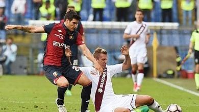 Toro ancora una sconfitta a Marassi, granata senz'anima contro il Genoa