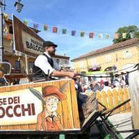 Pinocchio trasforma le colline delle Langhe nel paese dei balocchi