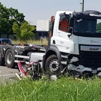 Motociclista muore contro un camion nei pressi dello Juventus Stadium