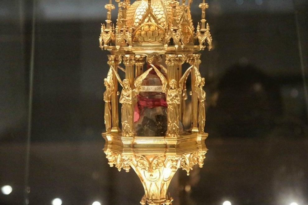 Asti, ecco il reliquiario di don Bosco rubato nel santuario