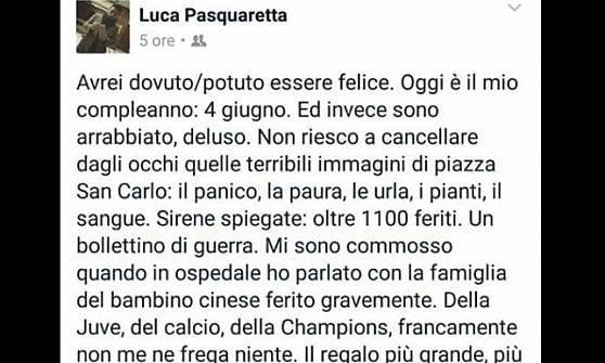 """Calca a Torino, Airola (M5s) si scusa dopo l'attacco : """"Numeri farlocchi per attaccare Appendino"""""""