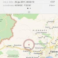 Scossa di terremoto nella Bassa Valsusa, epicentro a Rubiana