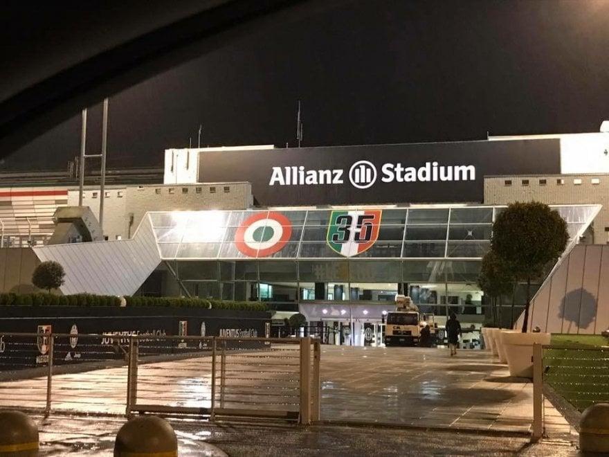 Juventus: ecco le prime immagini dell'Allianz Stadium
