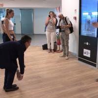 """Torino, una """"palestra"""" in aeroporto per fare stretching prima di volare"""