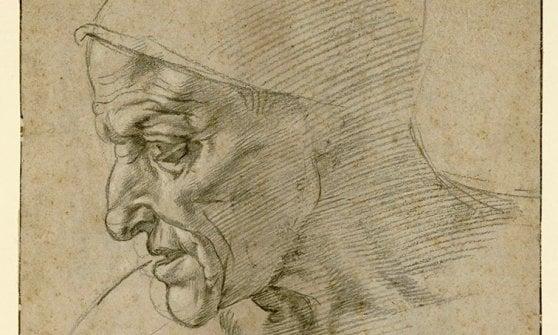 """Torino, torna esposto al pubblico il celebre """"Autoritratto"""" di Leonardo da Vinci"""