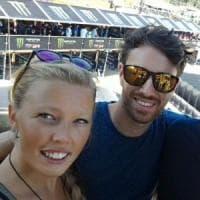 Elisa e Matteo, un amore condiviso per moto e montagna