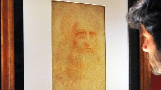 Torino: l'Autoritratto di Leonardo torna in mostra, ma non nel fine settimana