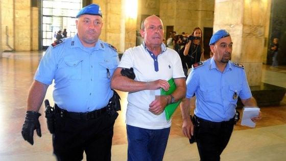 """""""Mi condannate perché sono terrone"""": il presunto killer di Caccia annuncia in aula lo sciopero della fame"""