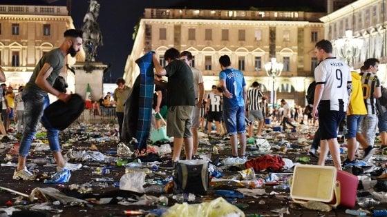 Torino: tutti gli errori in piazza S.Carlo nella notte di Champions